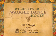 Wildflower Waggle Dance Honey