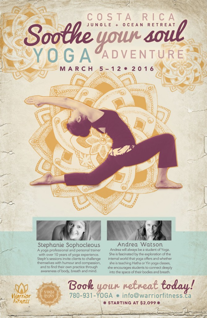 Soothe Your Soul Yoga Retreat poster
