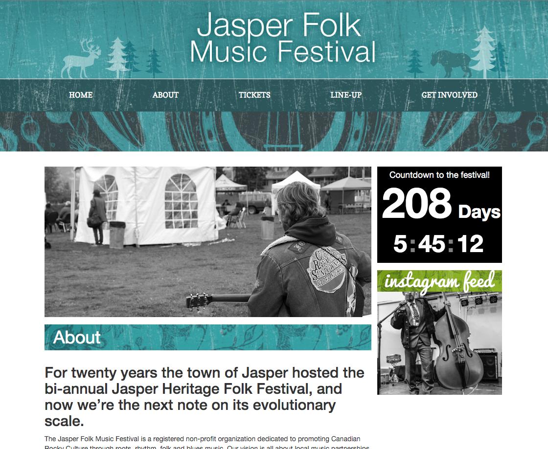 Jasper Folk Music Festival