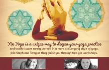 Yin-Credible Yoga Workshop Poster