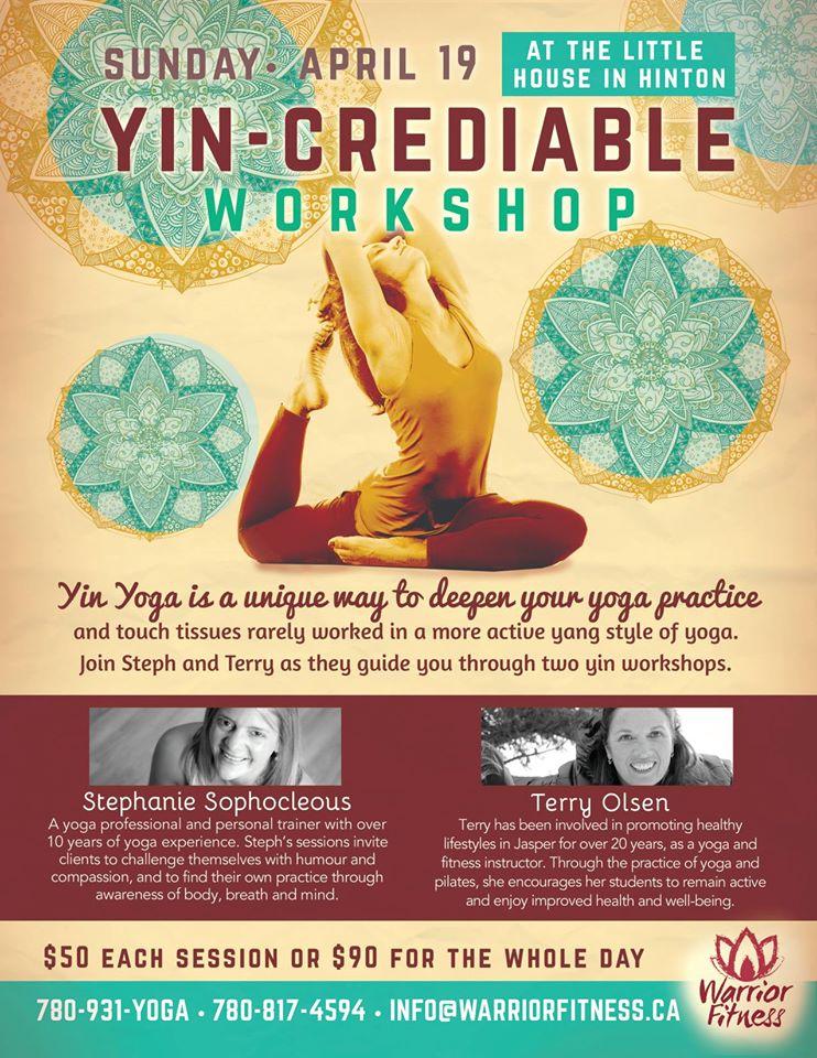 Yin-credible Yoga Workshop